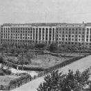 Здание управления ЮУЖД, с фото 1949 г.
